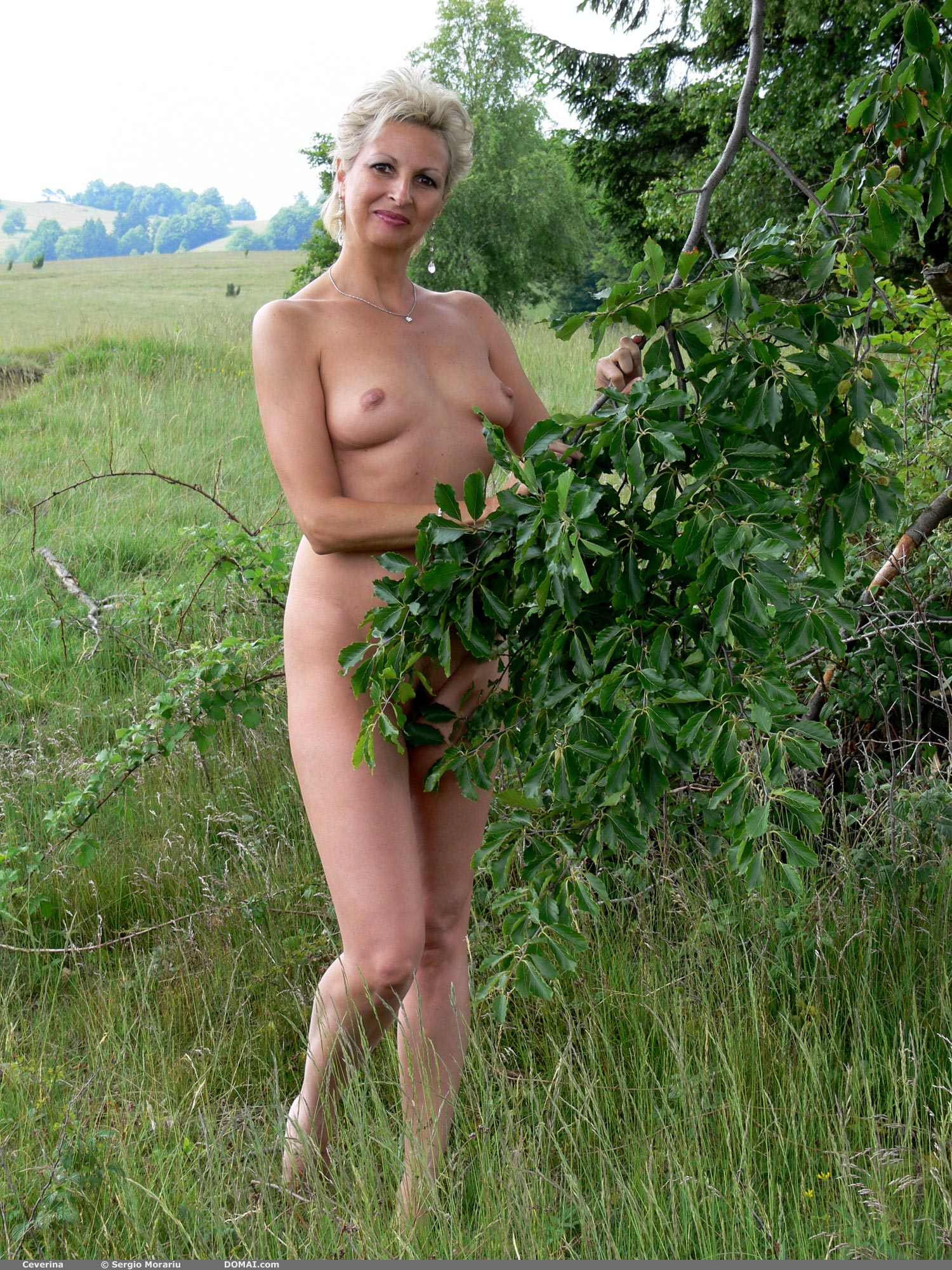 Nude women in their sixties
