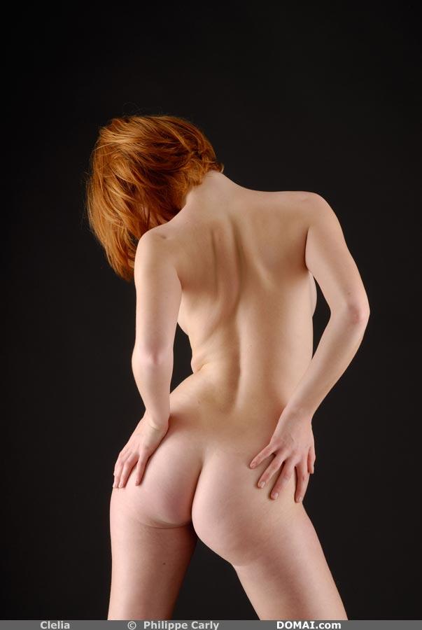 фото интимные рыжей короткосриженой
